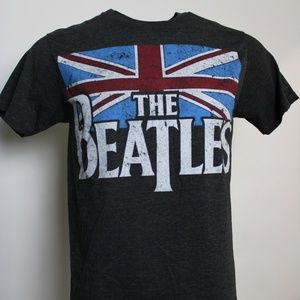 "The Beatles Graphic Tee ""Flag"" Size: Med"